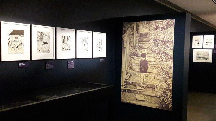 ExpositionYoshiharu Tsuge au Musée d'Angoulême (LAETITIA DE GERMON / RADIO FRANCE)