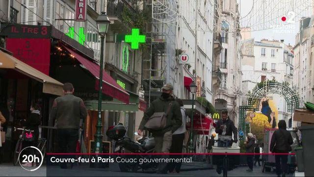 Couvre-feu à Paris : la communication floue du gouvernement