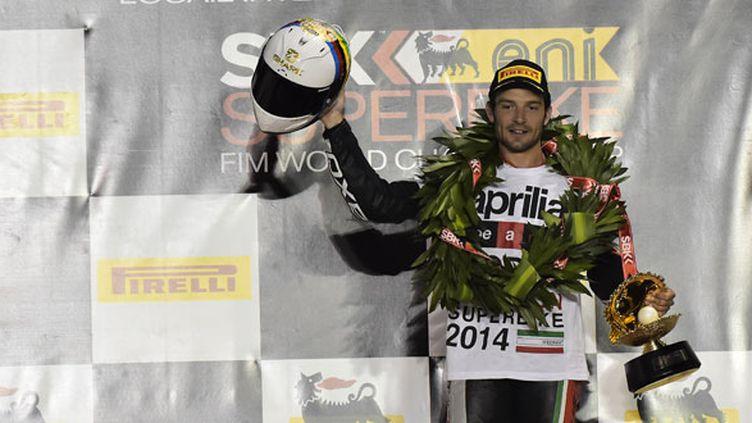Le pilote français de Superbike, Sylvain Guintoli