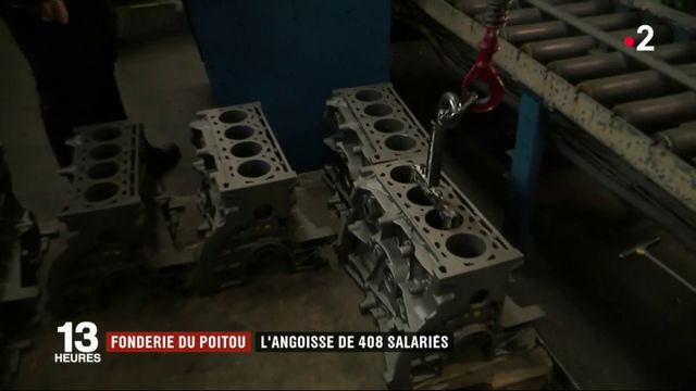 Fonderie du Poitou : 408 emplois menacés