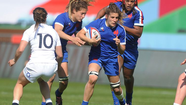 Gaëlle Hermet, capitaine de l'équipe de France féminine. (ANDREW COWIE / COLORSPORT)