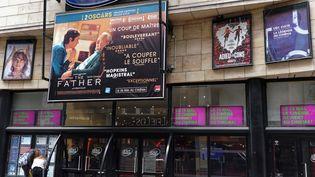 L'entrée d'un cinéma à Lille (Nord), le 18 mai 2021. (SYLVAIN LEFEVRE / HANS LUCAS / AFP)