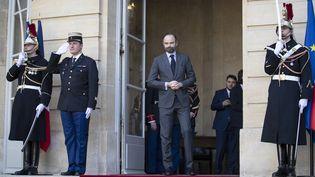 Le Premier ministre Édouard Philippe, le 14 février 2019. (THOMAS SAMSON / AFP)
