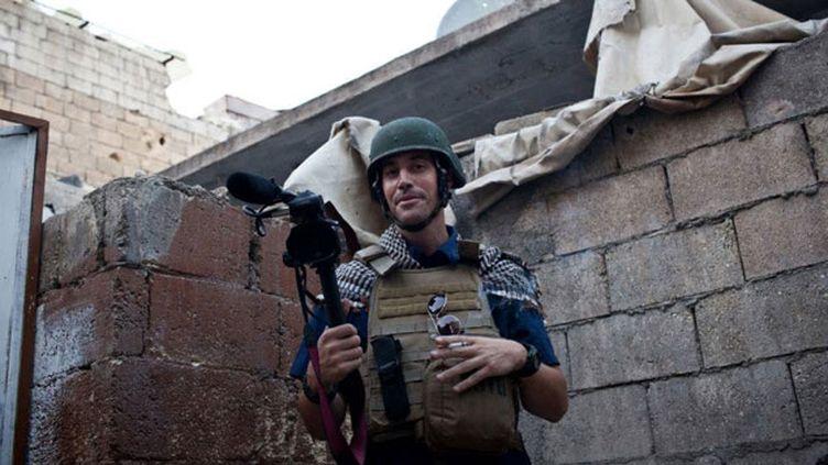 (James Foley était porté disparu en Syrie depuis novembre 2012 © EyePress News/SIPA)