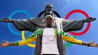 Usain Bolt, au sommet de l'Olympe. (FRANCETV SPORT)