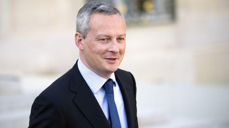 Bruno Le Maire, député UMP de l'Eure, le 22 février 2012 à Paris. (LIONEL BONAVENTURE / AFP)