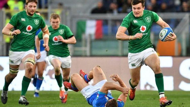 Jacob Stockdale (XV d'Irlande) (VINCENZO PINTO / AFP)