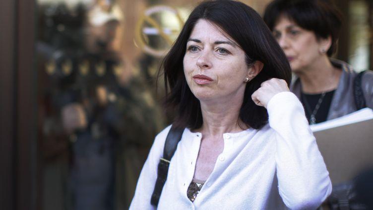 L'ancienne ministre de l'Education québécoise, Line Beauchamp, dans la ville de Québec (Canada), le 5 mai 2012. (MATHIEU BELANGER / REUTERS)