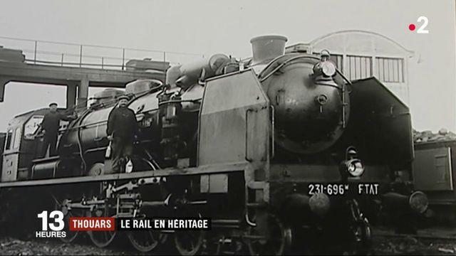 Thouars : une ville qui a le rail en héritage