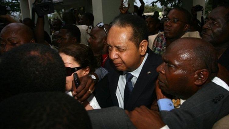 "Jean-Claude Duvalier, alias ""Baby Doc"", à Port-au-Prince le 18 janvier 2011 (AFP - HECTOR RETAMAL)"