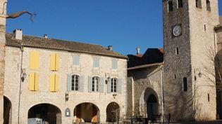 L'église Saint-Berthélémy de la bastide médiévale de Lauzerte, dans le Tarn-et-Garonne. (SANDRA CLERBOIS)