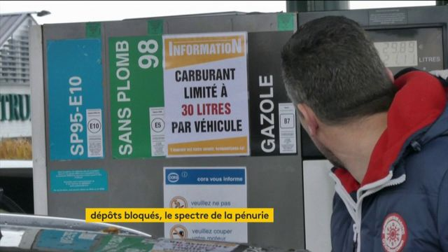 Le risque de pénurie de carburant inquiète