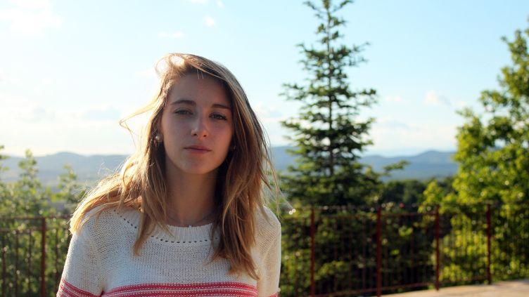 Chloé, le 21 mai 2015 à Barjac (Gard). (VIOLAINE JAUSSENT / FRANCETV INFO)