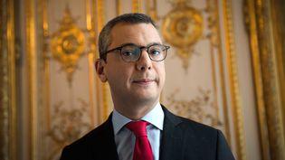 Le secrétaire général de l'Elysée, Alexis Kohler, le 24 octobre 2017, à Paris. (THOMAS SAMSON / AFP)