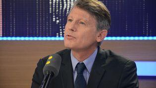 Vincent Peillon,ancien ministre de l'Education et candidat à la primaire de la gauche. (Jean-Christophe Bourdillat / Radio France)