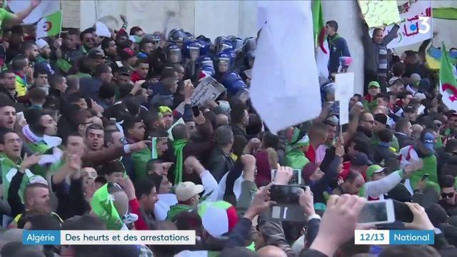 Algérie : des heurts et des arrestations