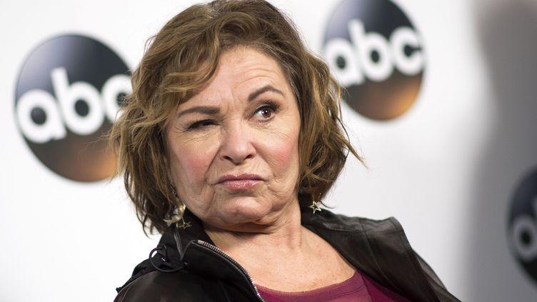 Roseanne Barr à Pasadena, en Californie, le 8 janvier 2018  (Valérie Macon / AFP)