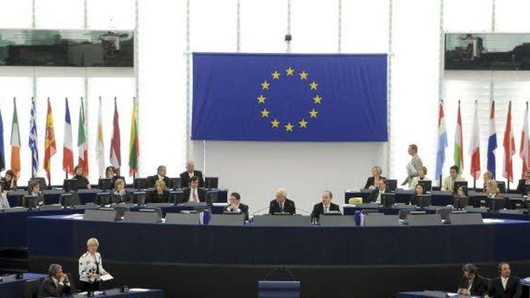 Les eurodéputés en session (European Union 2011 PE-EP)