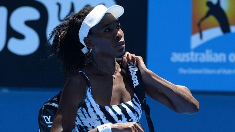 Venus Williams éliminée au 1er tour de l'Open d'Australie (MAL FAIRCLOUGH / AFP)
