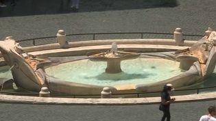 À Rome, desfontaines vestiges d'ouvrages de génie. (France 2)