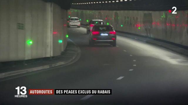 Autoroutes : des péages exclus du rabais