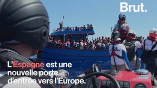 L'Espagne est la nouvelle porte d'entrée des migrants (Brut)