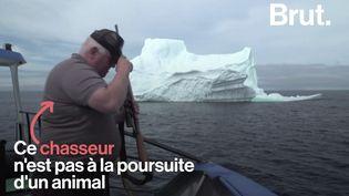 VIDEO. Rencontre avec un chasseur d'iceberg canadien (BRUT)