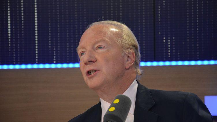 Brice Hortefeux,ancien ministre LR, député européen (Jean-Christophe Bourdillat / Radio France)