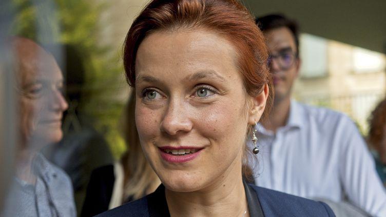 La maire de Poitiers Léonore Moncond'huy (GUILLAUME SOUVANT / AFP)