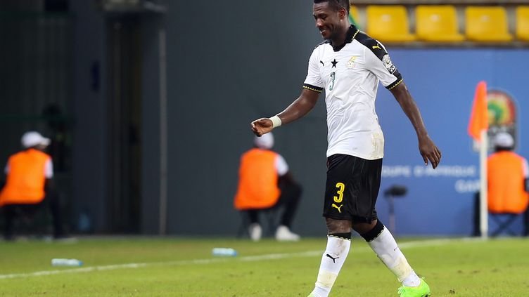 Asamoah Gyan avec le Ghana (FARED KOTB / ANADOLU AGENCY)