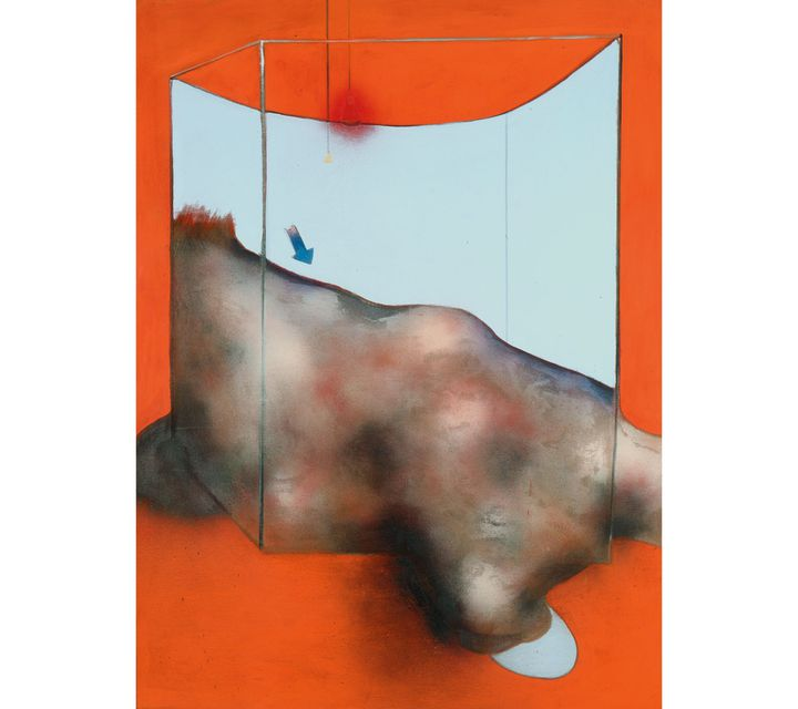 """Francis Bacon, """"Sand Dune"""", 1983, Fondation Beleler - Beyeler Museum, Bâle (© The Estate of Francis Bacon /All rights reserved / Adagp, Paris and DACS , London 2019 © The Estate of Francis Bacon. All rights reserved. DACS / Artimage 2019. Photo: Prudence Cuming Associates Ltd)"""