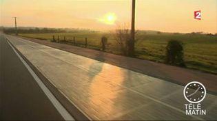 La première route solaire du monde (FRANCE 2)