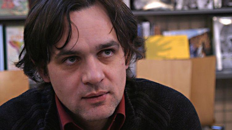 Le dessinateur Riss en 2007.  (Julien Cassagne / IP3 Press / MaxPPP)