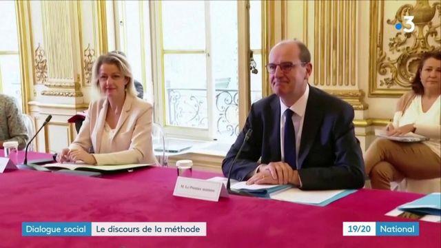 Dialogue social : Jean Castex réunit tous les partenaires sociaux