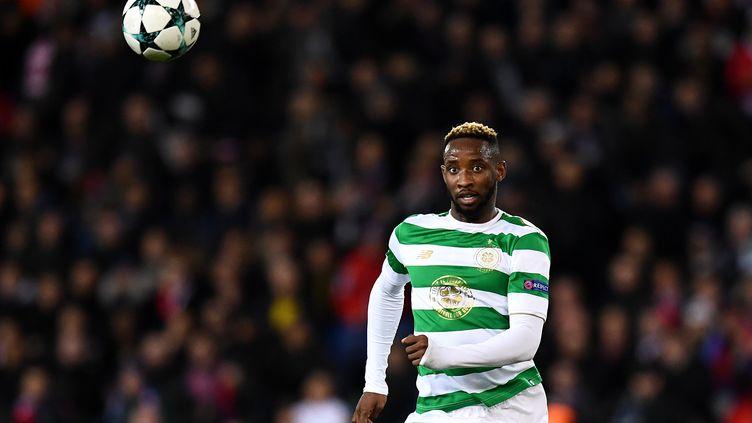 Moussa Dembélé arrive à Lyon (FRANCK FIFE / AFP)