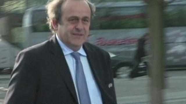 Michel Platini vise la présidence de la Fifa