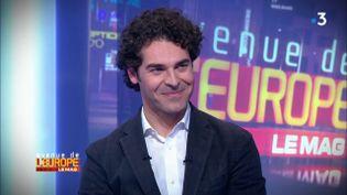 """Avenue de l'Europe. """"Le nombre de transfrontaliers est destiné à augmenter"""", selon Alberto Alemanno (FRANCE 3 / FRANCETV INFO)"""