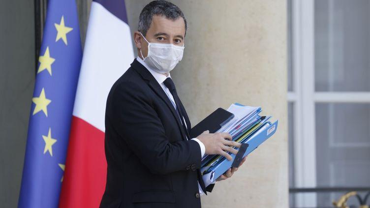 Le ministre de l'Intérieur, Gérald Darmanin, le 14 octobre 2020 à Paris. (LUDOVIC MARIN / AFP)