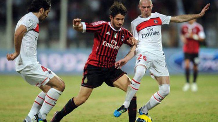 Le Milanais Pato face aux Parisiens Bisevac et Jallet à Dubaï