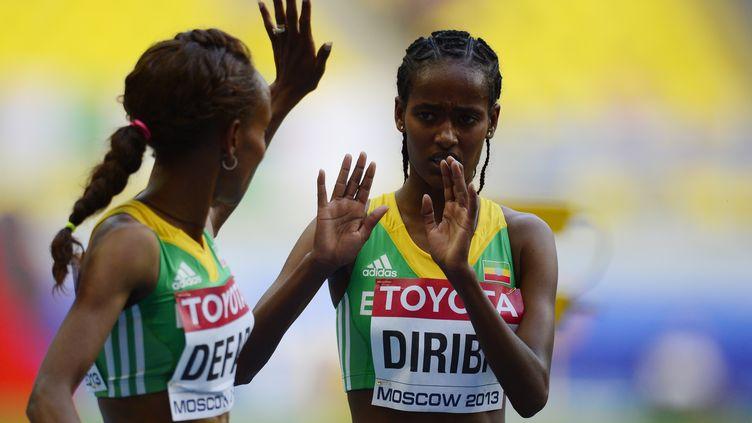 L'Ethiopienne Buze Diriba (OLIVIER MORIN / AFP)