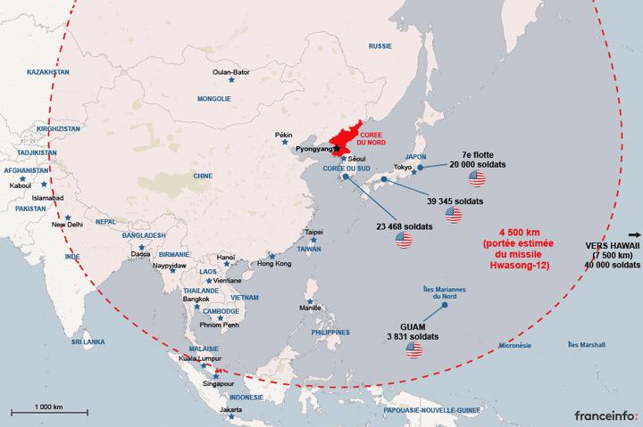 Présence de militaires américains à portée de la Corée du nord. (NICOLAS ENAULT)