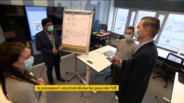Covid-19 : la mise en place d'un passeport vaccinal divise l'Union européenne