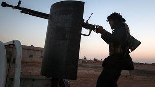Les Forces démocratiques syriennes contrôlent désormais 90% de la ville de Raqqa, en Syrie. (Photo d'illustration) (ALICE MARTINS / AFP)