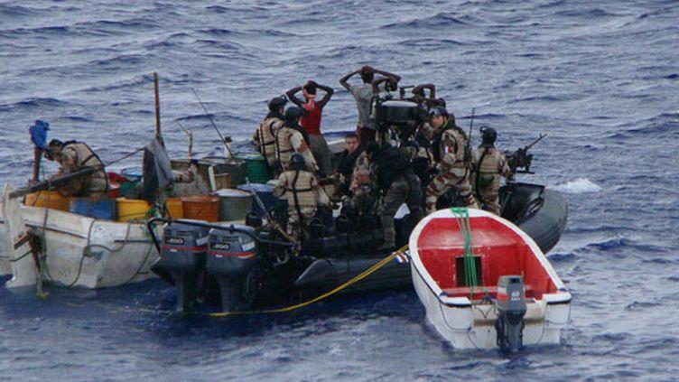 Arrestation de pirates dans le golfe de Guinée - Date non précisée (EuNavFor - Force Navale Européenne)