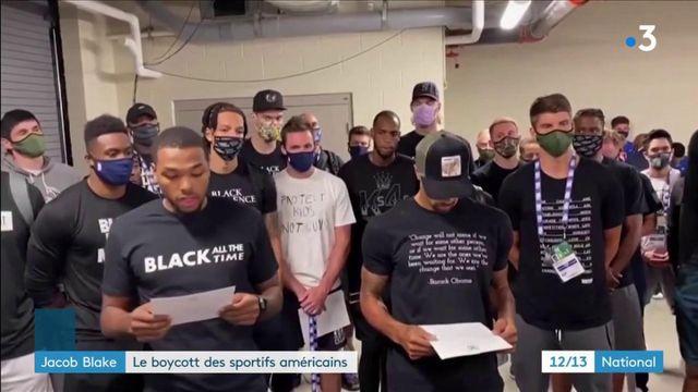 Affaire Jacob Blake : les sportifs américains organisent un boycott inédit