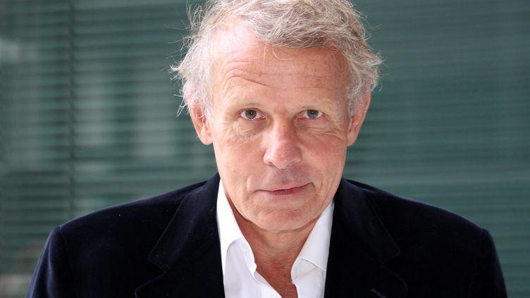 Le journaliste Patrick Poivre d'Arvor à Paris le 31 août 2011.  (DELPHINE GOLDSZTEJN /LE PARISIEN / MAXPPP)