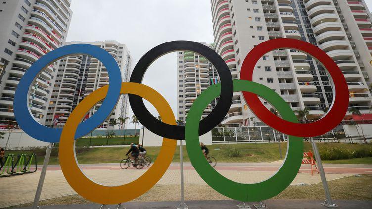 (Les bâtiments du village olympique, construits pour les JO, a accueilli les délégations d'athlètes © Maxppp ©)