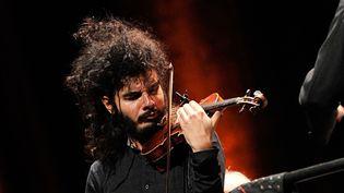 Nemanja Radulovic est l'une des stars invitées à Paris Mezzo.  (BEBERT BRUNO/SIPA)