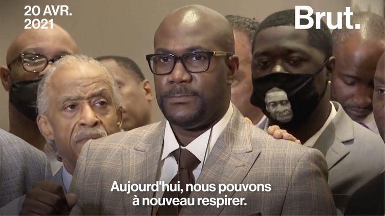 VIDEO. États-Unis : Le vibrant plaidoyer du frère de George Floyd (BRUT)