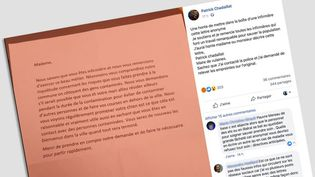 Le maire deVulaines-sur-Seine a vivement réagi sur Facebook à la lettre adressée à une infirmière de sa commune, l'invitant à quitter la commune le temps de l'épidémie de coronavirus. (PATRICK CHADAILLAT / FACEBOOK)